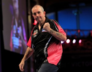 BET VICTOR WORLD MATCHPLAY 2013 WINTER GARDENS,BLACKPOOL PIC;LAWRENCE LUSTIG FINAL PHIL TAYLOR V ADRIAN LEWIS PHIL TAYLOR