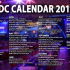 PDC Calendar 2016
